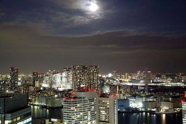 世界貿易センタービル 展望台からの夜景