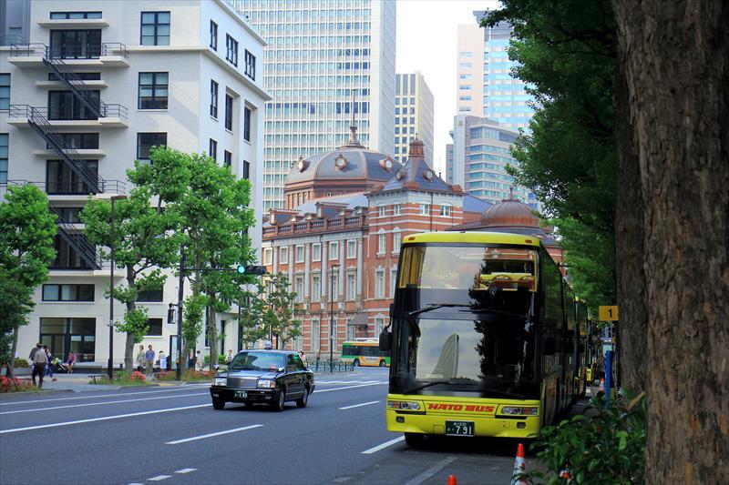 有楽町駅から東京駅までの風景